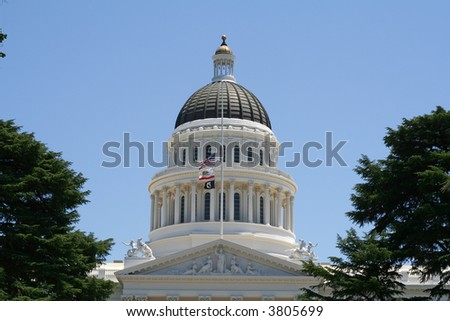 Dome of the California State Capitol Building