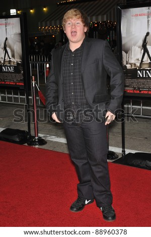 "Doug Brochu at the Los Angeles premiere of ""Nine"" at the Mann Village Theatre, Westwood. December 9, 2009  Los Angeles, CA Picture: Paul Smith / Featureflash"