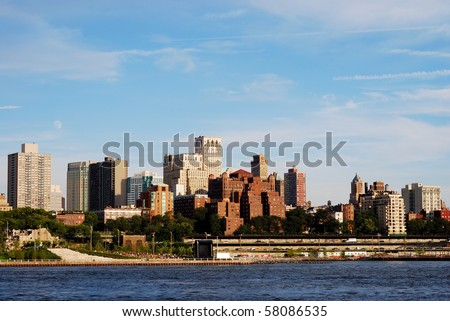 Downtown Brooklyn skyline in New York City