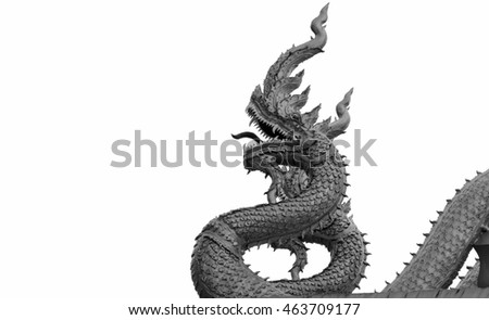 Vector Illustration Thaidragon Drawing Style 462384724 on unicorn head sculpture