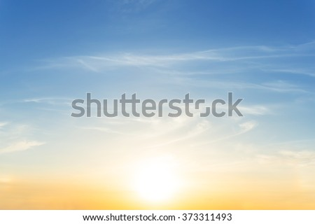 dramatic sunset evening sky background