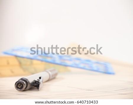 Drawing Drafting Equipment Stock Photo Shutterstock - Drafting equipment