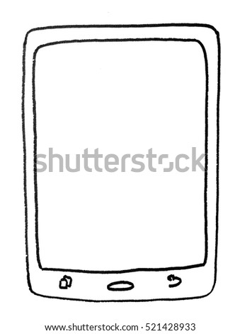 Drawing of tablet