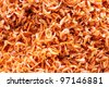 dried salted prawn, sea food - stock photo
