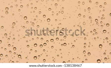 drops on the glass like background
