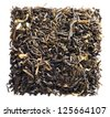 dry tea, isolated on white background - stock photo