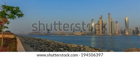 Dubai, Sea view