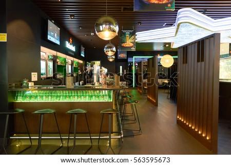 Shenzhen China January 31 2015 Starbucks Stock Photo
