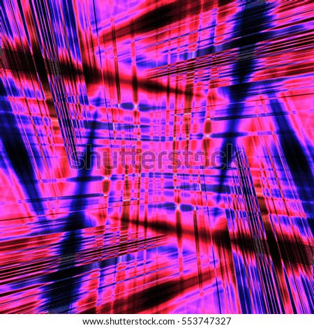 Dynamic pink and blue light streaks background