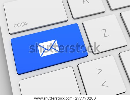 e mail keyboard