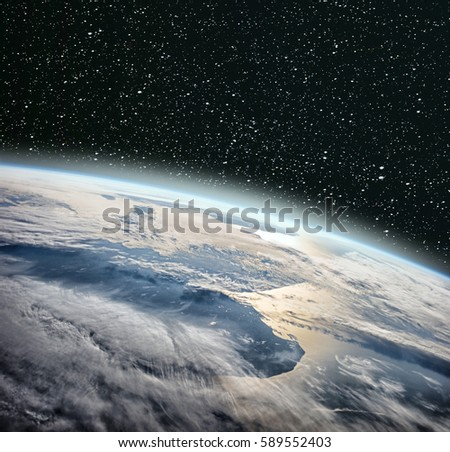 Earth Globe Deep Space Earth Space Stock Photo 589552400 ...