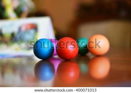 Pool Table Balls Scattered Scattered Skitt...