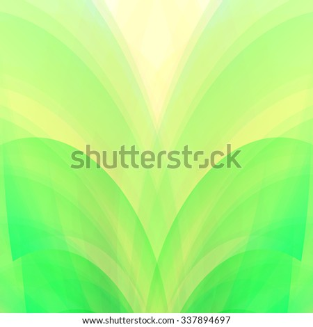 Ecology concept soft green leaves background