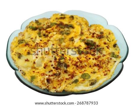 eggs with pepper