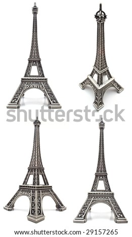 Eiffel tower figurine, a souvenir from Paris.