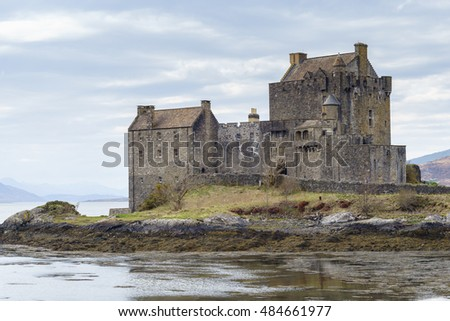 Eilean Donan Castle, Kyle of Lochalsh, Highland, Scotland, United Kingdom.