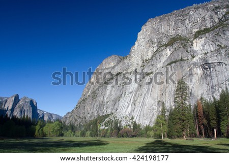 El Capitan in Yosemite valley, California, USA