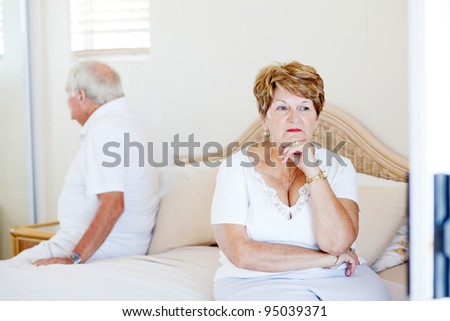elderly couple relationship issue