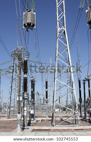 Electric substation - power communications