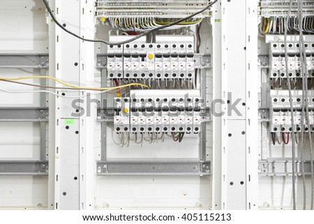 Electrical Panel Houses Stock Photo 404965933 - Shutterstock