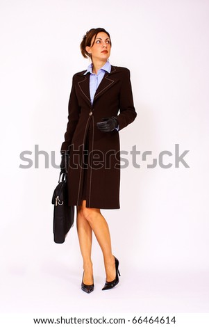 Elegant business woman