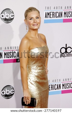 Elisha Cuthbert at the 40th Anniversary American Music Awards held at the Nokia Theatre L.A. Live in Los Angeles, United States, 181112.