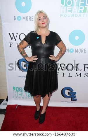 Elle King at the Joyful Heart Foundation celebrates the No More PSA Launch, Milk Studios, Los Angeles, CA 09-26-13
