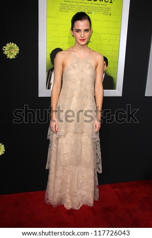 "Emma Watson at ""The Perks of Being a Wallflower"" Los Angeles Premiere, Arclight, Hollywood, CA 09-10-12"