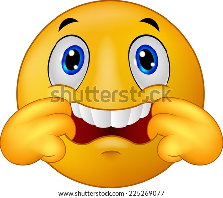 Emoticon Making Silence Sign Stock Vector 60308284 ...
