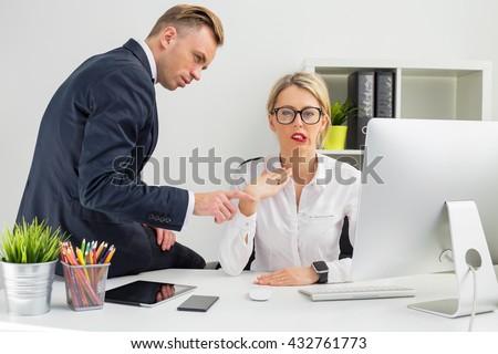 Flirten mit dem chef