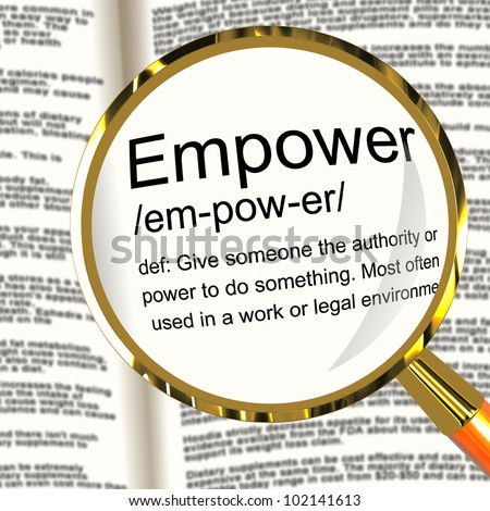 women empowerment definition Political empowerment - definition of political empowerment by the free dictionary https:  as part of the project on political empowerment of women,.