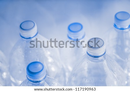 empty plastic bottles