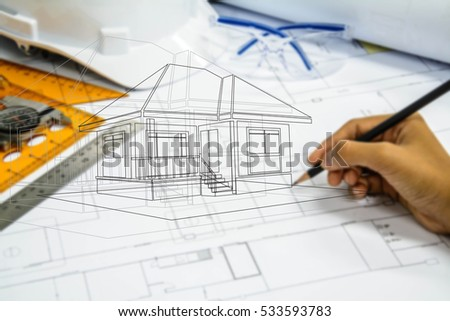 Women travel abstract background concept stock photo for Architectural engineering concepts