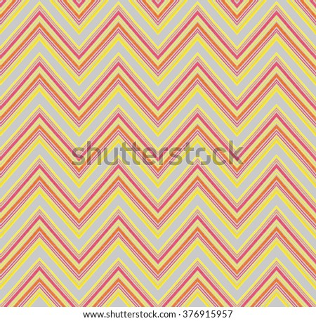 ethnic geometry seamless hand drawing zig zag pattern