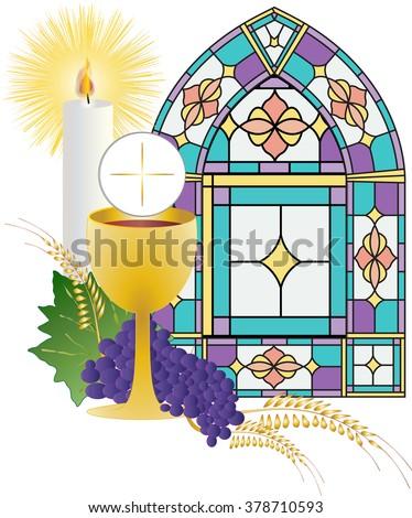 First Holy Communion Symbols