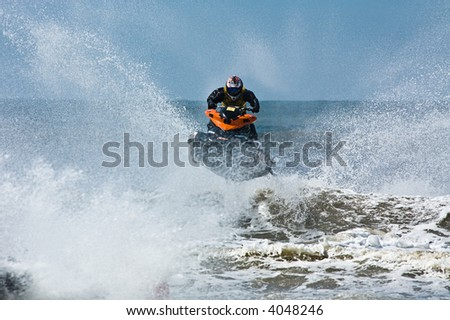 European Jet Ski Championship in Zandvoort, The Netherlands