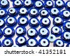 Evil eye charms - stock photo
