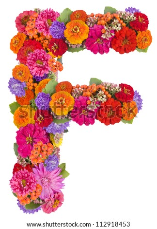 Letter O Made Colorful Petals Rose Stock Photo 148689734 - Shutterstock