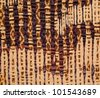 Fabric Abstract Background - stock photo