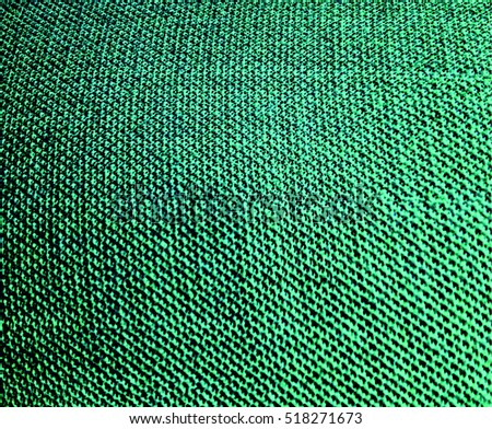Fabric material texture abstract background blue color textile wallpaper