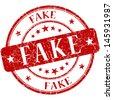 fake stamp - stock photo