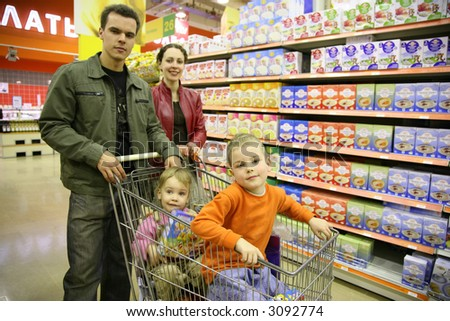 family of four in shop 2