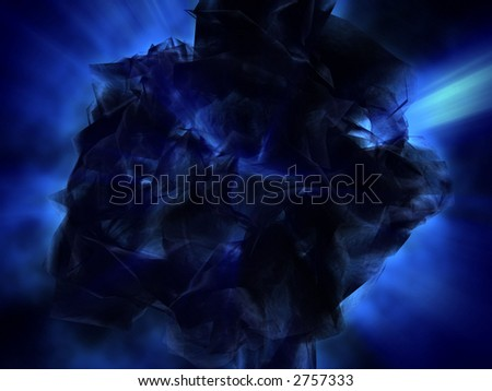 fantasy_space_object_with_blue_lights