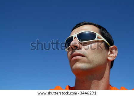 fashion boy with sunglasses