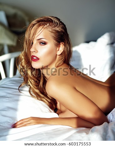 adult erotic nude photo stock