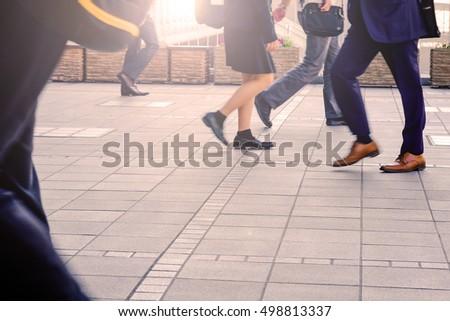 Silhouette Traveler Luggage Walking Airport Stock Photo