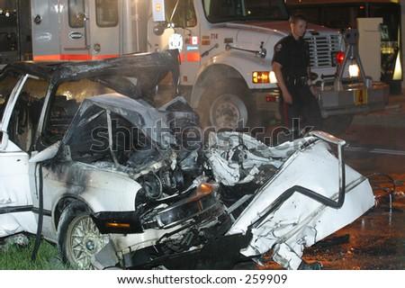 Graphic Fatal Car Crash Victims