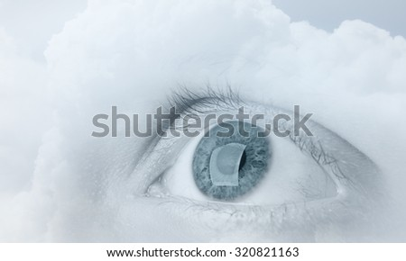 Human footprints on white snow stock photo 526790809 for Travertine eye drops