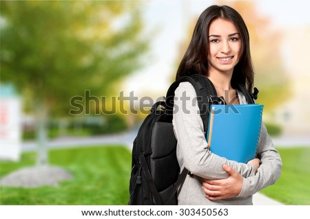 Female Student, Mobile Phone, Teenager.