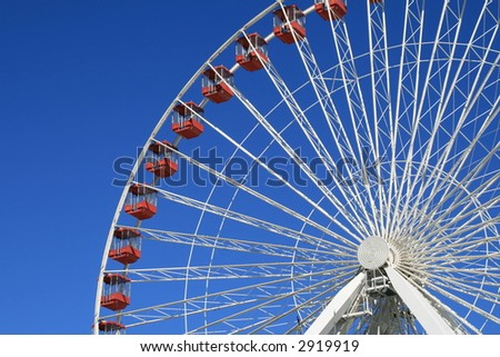 Ferris Wheel Ride at the Navy Pier, Chicago
